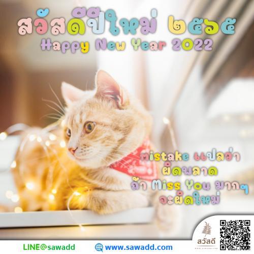 Sawadee สวัสดี สวัสดีปีใหม่ สวัสดีปีใหม่2021 sawadd003